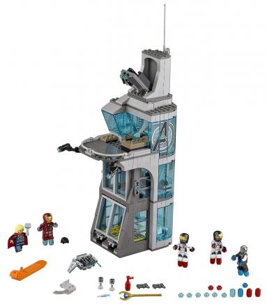 Нападение на башню Мстителей