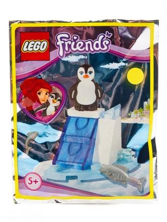 Пингвин и ледяная горка