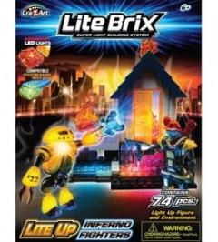 Бомба и Огненные Бойцы LITE BRIX