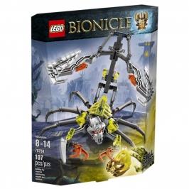 Череп-Скорпион LEGO Bionicle (Биониклы)