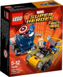 Капитан Америка против Красного Черепа НОВИНКА LEGO Super Heroes (Супер Герои)