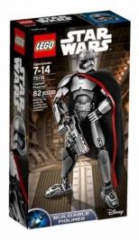 Капитан Фазма НОВИНКА LEGO Star Wars (Звездные Войны)