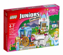 Карета Золушки НОВИНКА LEGO Juniors (Джуниорс)