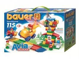 Конструктор Avia 115 элементов BAUER
