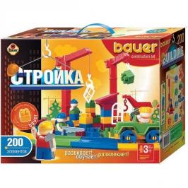Конструктор Стройка 200 элементов BAUER