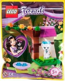 Котенок и уютный уголок LEGO Friends (Подружки)