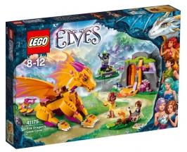Лавовая пещера дракона огня НОВИНКА LEGO Elves (Эльфы)