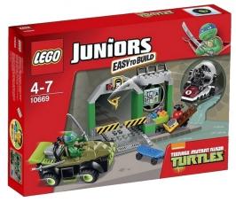 Логово черепашек LEGO Juniors (Джуниорс)