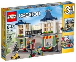 Магазин по продаже игрушек и продуктов LEGO Creator (Креатор)