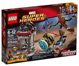 Миссия Побег в Ноувер LEGO Super Heroes (Супер Герои)