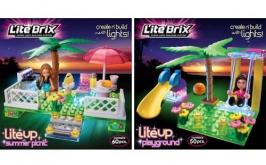 Набор Пикник и Игровая площадка LITE BRIX