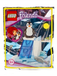 Пингвин и ледяная горка LEGO Friends (Подружки)