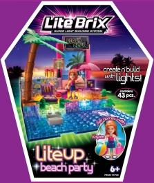 Пляжная вечеринка LITE BRIX