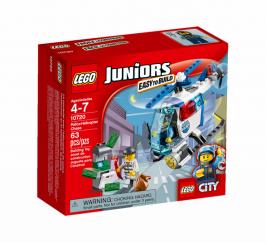 Погоня на полицейском вертолете НОВИНКА LEGO Juniors (Джуниорс)