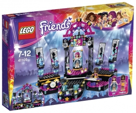 Поп звезда: сцена LEGO Friends (Подружки)