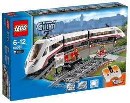 Скоростной пассажирский поезд LEGO City (Город)