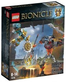 Создатель Масок против Стального Черепа НОВИНКА LEGO Bionicle (Биониклы)