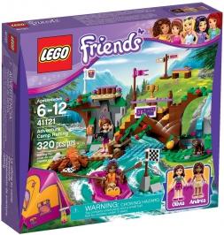 Спортивный лагерь: сплав по реке НОВИНКА LEGO Friends (Подружки)