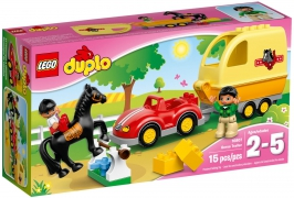 Трейлер для лошадок НОВИНКА LEGO DUPLO (Дупло)