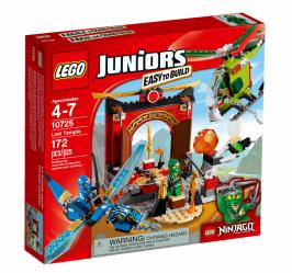 Затерянный храм НОВИНКА LEGO Juniors (Джуниорс)