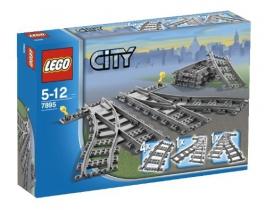 Железнодорожные стрелки LEGO City (Город)
